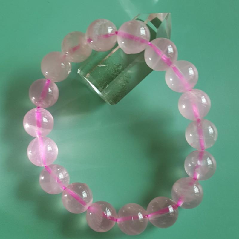 高質素粉晶手鏈